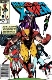 Heroes for Hope: Starring the X-Men #1 Canadian Price Cover