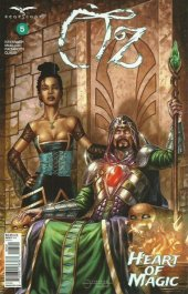 Oz Heart Of Magic #5 Cover D Vigonte