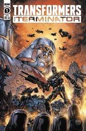 Transformers Vs. Terminator #1 1:10 Incentive Variant