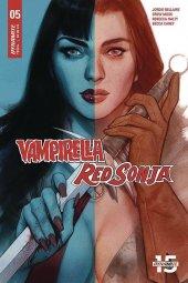 Vampirella / Red Sonja #5 Cover C Oliver