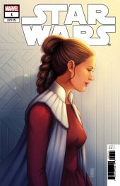 Star Wars #1 1:50 Leia Variant Cover by Jen Bartel
