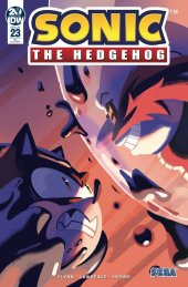 Sonic the Hedgehog #23 1:10 Incentive Variant