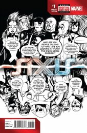 Avengers & X-Men: Axis #1 Deadpool Party Sketch Variant