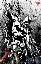 dceased #1 bulletproof comics exclusive david finch and tomeu morey b&w variant