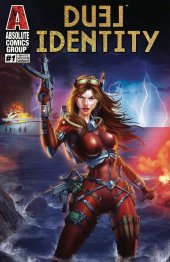 Duel Identity #1 White Widow Cover