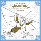 avatar: the last airbender adult coloring book tp