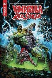 Vampirella / Red Sonja #7 1:5 Gedeon Zombie Cover