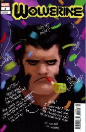 Wolverine #1 Cover N Incentive Rahzzah Party Sketch Cover