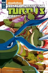 Teenage Mutant Ninja Turtles: Amazing Adventures #11 Subscription Variant
