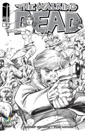 The Walking Dead #1 Wizard World Madison 2015 VIP Exclusive Sketch Variant