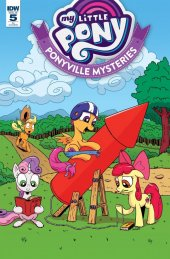 My Little Pony: Ponyville Mysteries #5 1:10 Incentive Variant