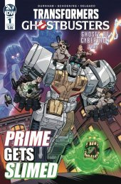 Transformers / Ghostbusters #1 Cover B Roche