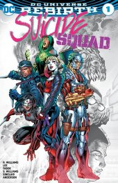 Suicide Squad #1 Jim Lee Color Fade Variant