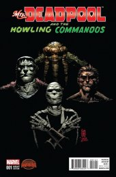 Mrs. Deadpool and the Howling Commandos #1 Camuncoli Variant