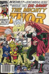 The Mighty Thor #454 Newsstand Edition