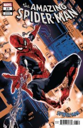 The Amazing Spider-Man #23 Stuart Immonen Spider-Man Blue Red Suit Variant