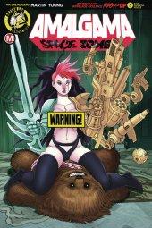 Amalgama Space Zombie #3 Cover D Espinosa Risque