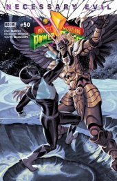 Mighty Morphin Power Rangers #50 Torpedo Comics Exclusive Black Ranger Variant