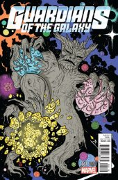 Guardians of the Galaxy #1 Allred Kirby Monster Variant