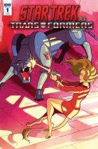 Star Trek vs. Transformers #1 1:10 Cover Ganucheau