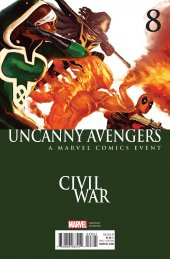 Uncanny Avengers #8 Civil War Variant
