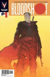 Bloodshot #1 Ribic Cover