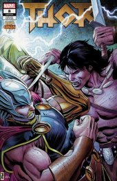 Thor #8 Zircher Conan Vs Marvel Heroes Variant