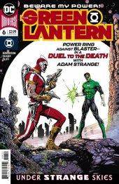 The Green Lantern #6 Original Cover