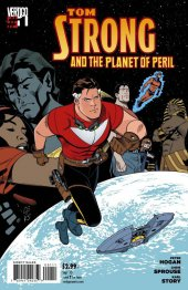 tom strong and the planet of peril #1