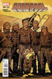 Deadpool #45 Green Wtd Variant