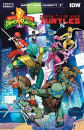 Mighty Morphin Power Rangers / Teenage Mutant Ninja Turtles #1 2nd Print