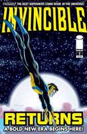 Invincible #1 Cover C by Darwyn Cooke