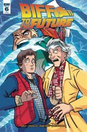 Back to the Future: Biff to the Future #6 Retailer Incentive Cover