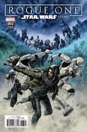 Star Wars: Rogue One #3 Duncan Fegredo 1:10 Retailer Incentive Cover
