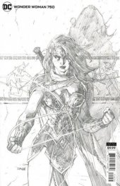 Wonder Woman #750 Jim Lee Penciled 1:100 Variant