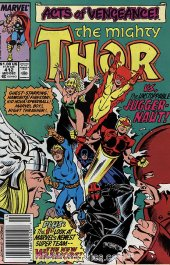 The Mighty Thor #412 Newsstand Edition
