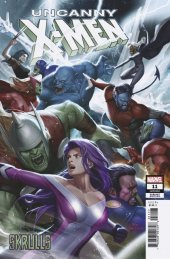 Uncanny X-Men #11 Lee Skrulls Variant
