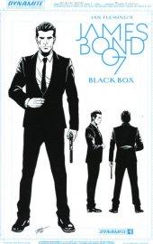 James Bond: Black Box #1 James Bond Artboard Variant