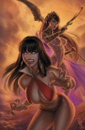 Vampirella / Dejah Thoris #1 Warren Louw Variant
