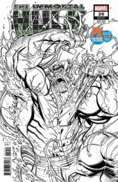 The Immortal Hulk #20 PX Previews SDCC 2019 Exclusive Variant - Limited To 4000 Copies