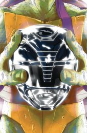 Mighty Morphin Power Rangers / Teenage Mutant Ninja Turtles #5 Donatello Variant