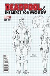 Deadpool & The Mercs for Money #4 Hawthorne Design Variant