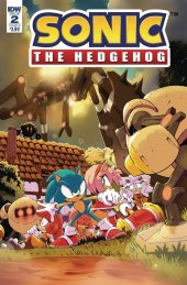 Sonic the Hedgehog #2 Cover B Thomas