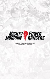 Mighty Morphin / Power Rangers #1 Limited Edition Hardcover