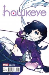 All-New Hawkeye #5 Ogaki Manga Variant
