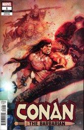 Conan the Barbarian #1 Bill Sienkiewicz Variant