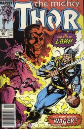 The Mighty Thor #401 Newsstand Edition
