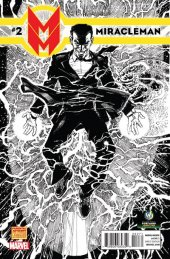 Miracleman #2 Wizard World Portland Sketch Variant