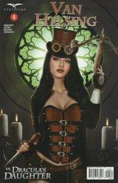 Van Helsing Vs. Draculas Daughter #5 Cover C Jimenez