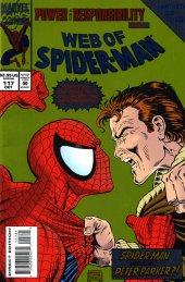 web of spider-man #117 green flipbook direct edition